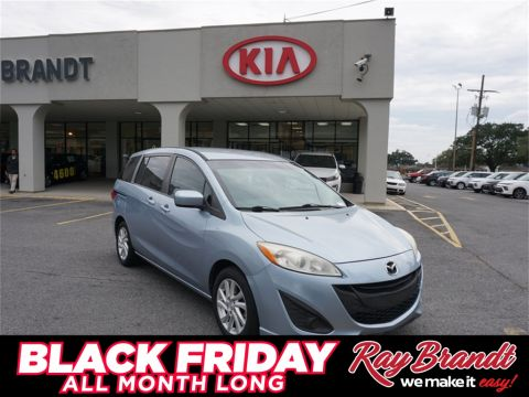 Pre-Owned 2012 Mazda5 Sport FWD 4D Wagon